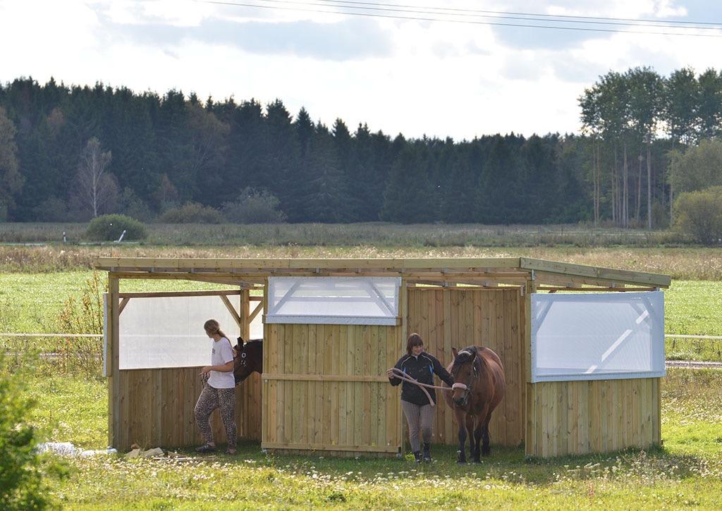 bygga hästgård